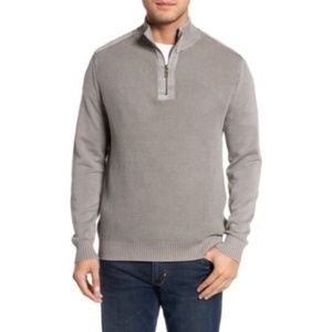 Tommy Bahama Knit Quarter Zip Pullover Sweater XL